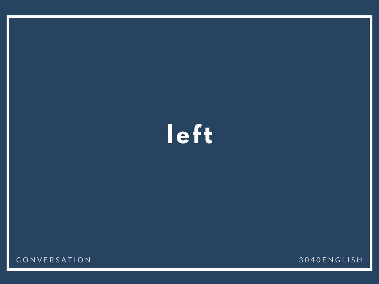 「残る・残っている」の英語表現3選【英単語・英会話・例文あり】