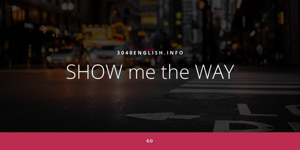 英語で道案内するときの英会話表現90フレーズ【音声・例文あり】