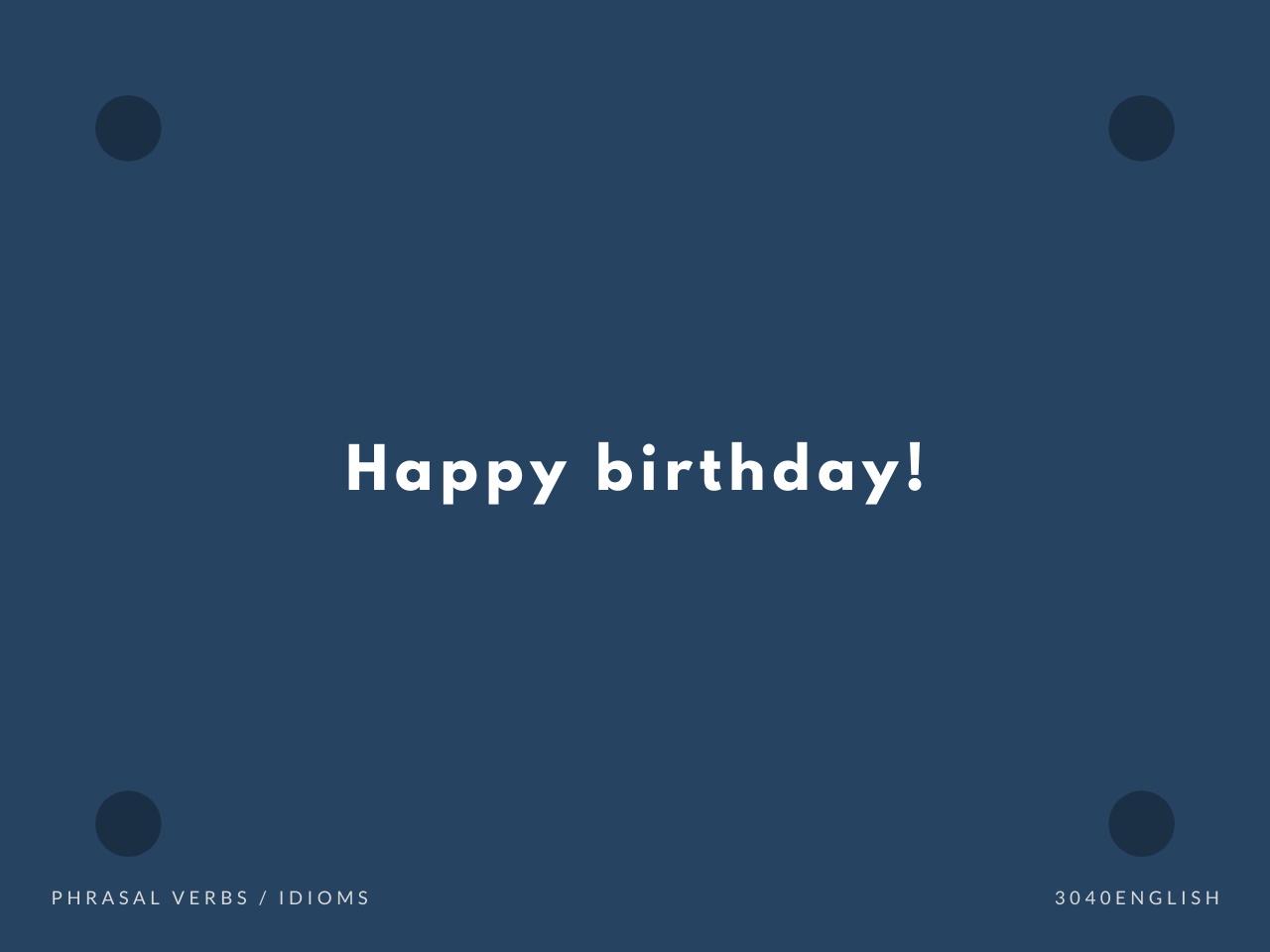 Happy Birthday だけではない!誕生日を祝う英語表現14選