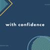 自信をもって答える / 自信なく答えるときの英会話・英語表現