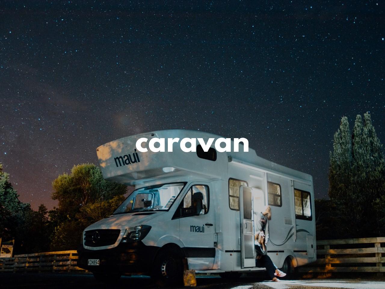caravan: 移動住宅