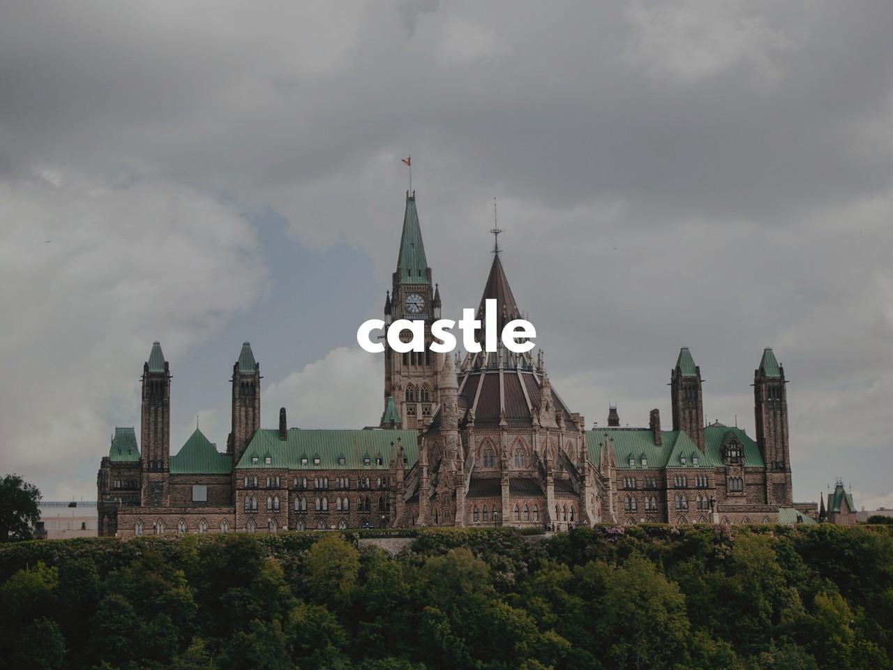 castle : 城