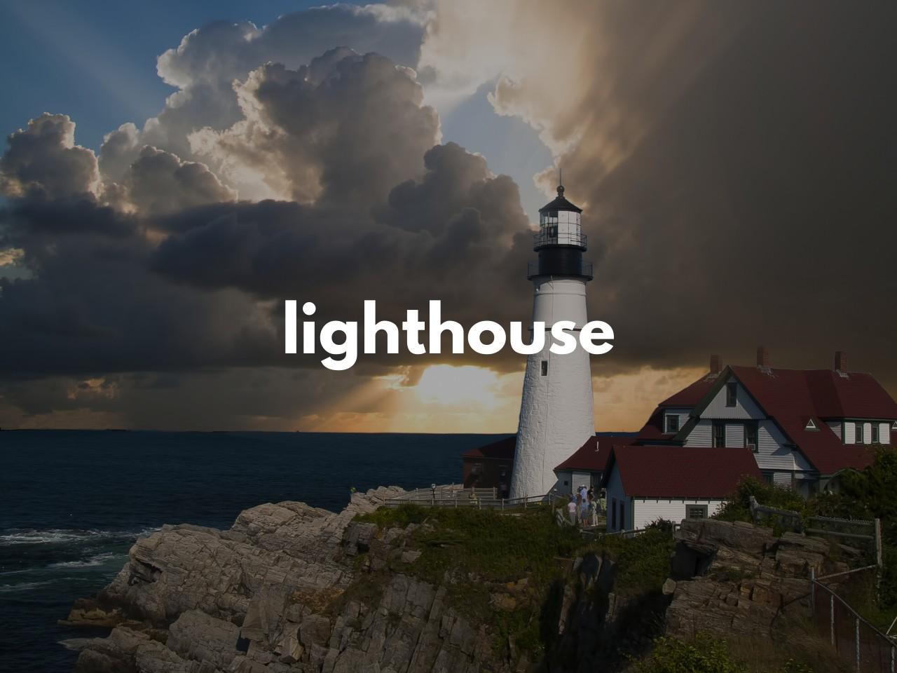 lighthouse : 灯台