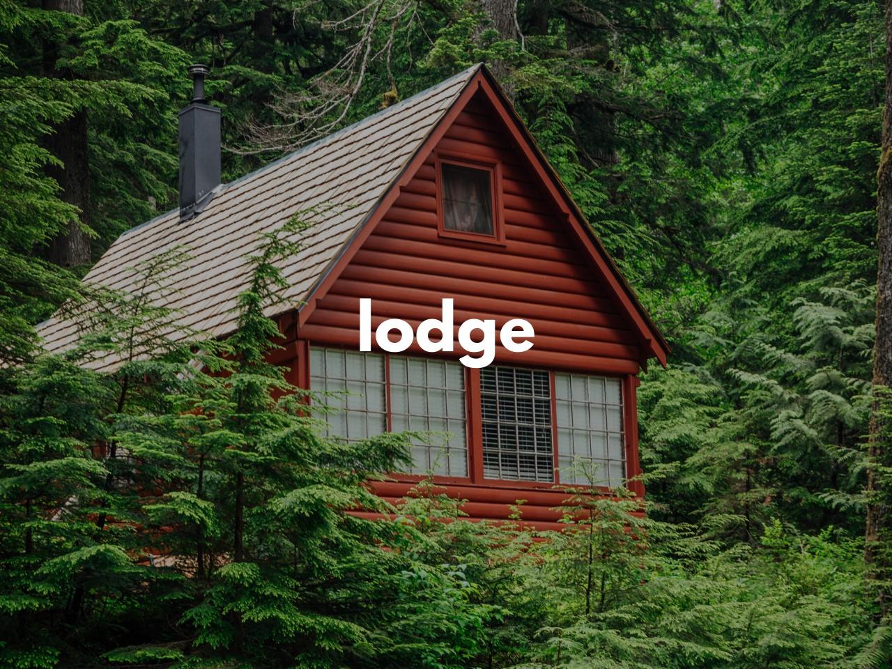 lodge : ロッジ