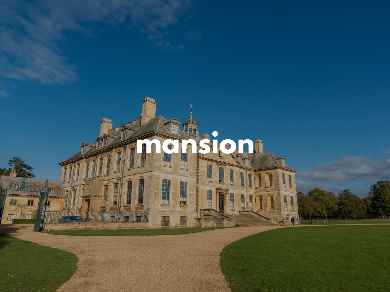 mansion : 大邸宅