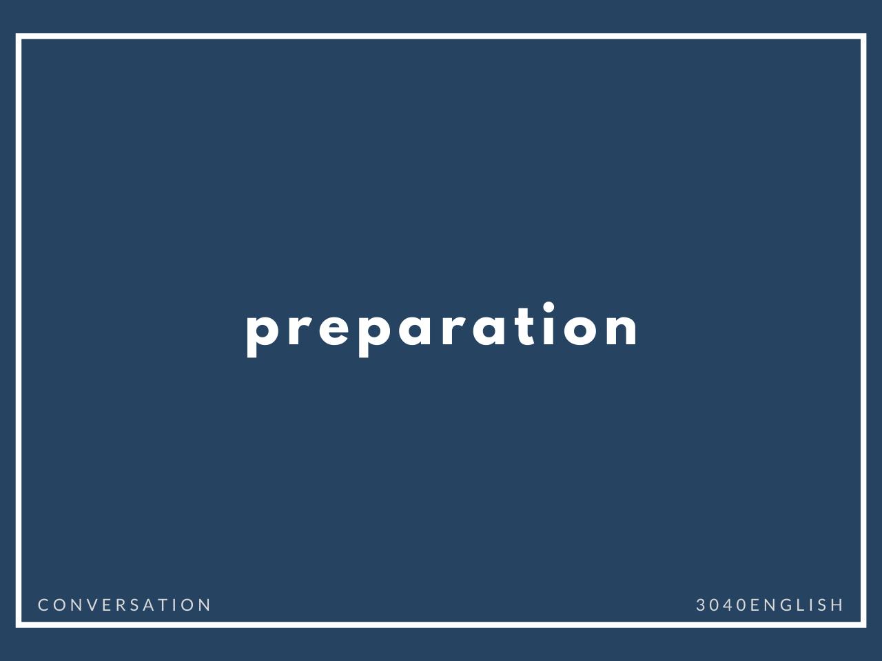 「準備する」「用意する」の英語表現3選【英会話用例文あり】