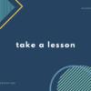 「授業を受ける」の単語・英会話・英語表現【例文あり】