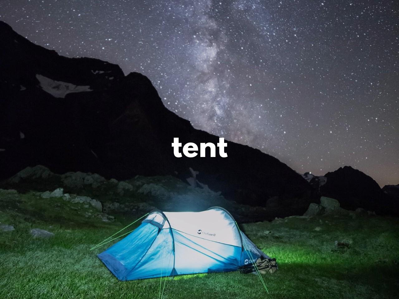 tent : テント