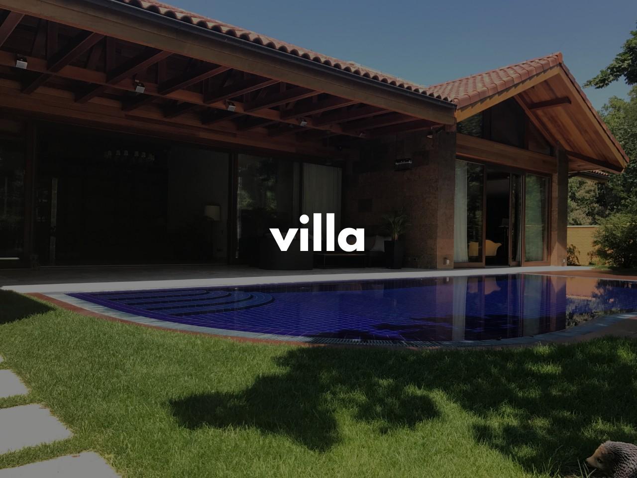 villa : 貸別荘