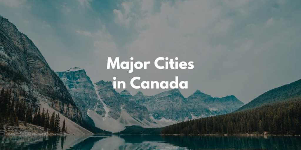 カナダの全州・主な都市・街の英語一覧【音声あり】