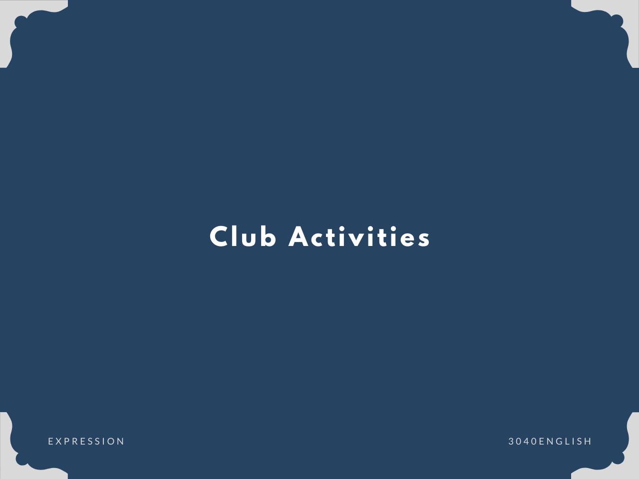 「部活」「クラブ活動」の英語表現一覧【英会話用例文あり】